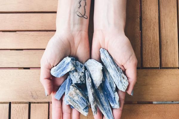 cianite azul espada de são miguel