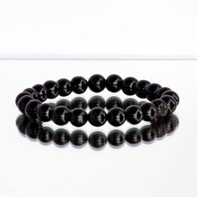 pulseira de turmalina negra