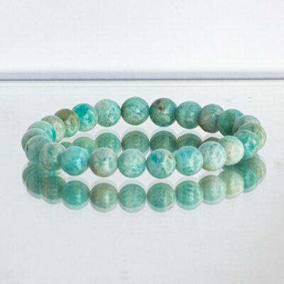 pulseira de amazonite cristais da alma