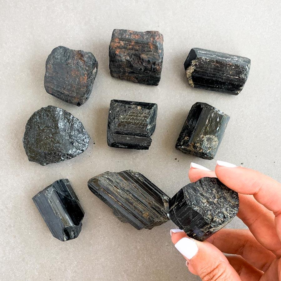 turmalina negra de mocambique cristais da alma