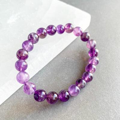 pulseira de ametista surya cristais