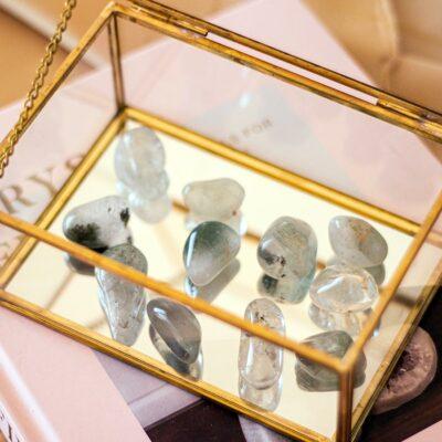 quartzo com chlorite surya cristais