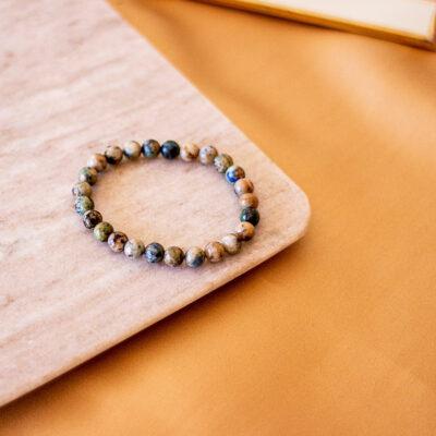 pulseira de crisocola surya cristais
