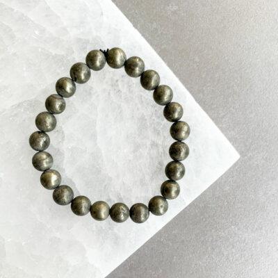 pulseira de pirite surya cristais