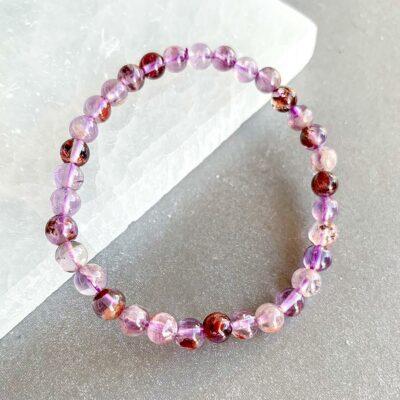 pulseira de super seven surya cristais