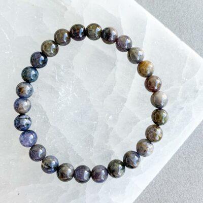 pulseira tanzanite surya cristais