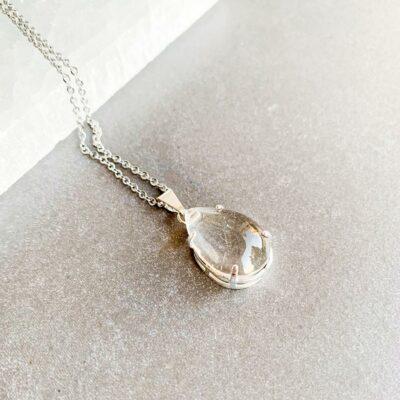 colar quartzo cristal surya cristais