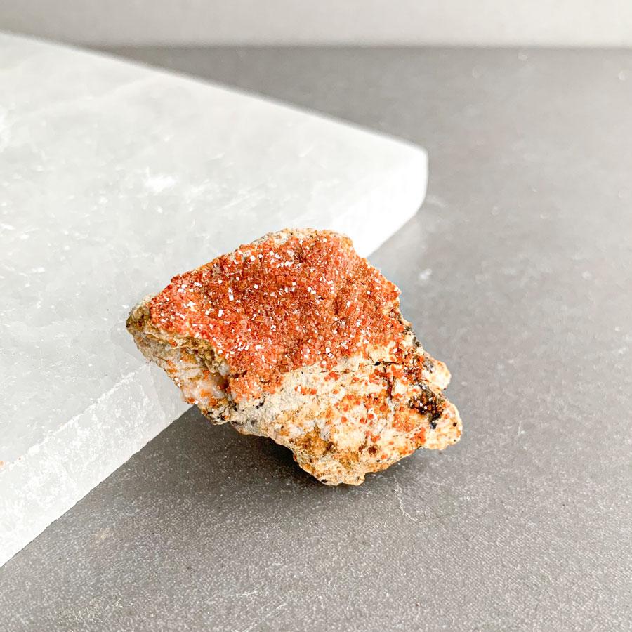 vanadinite surya cristais