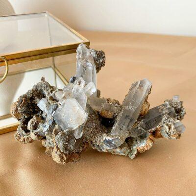drusa de quartzo panasqueira