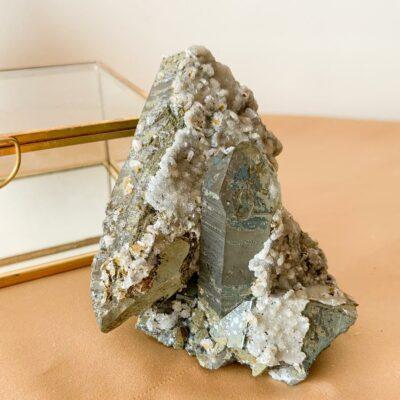 drusa de quartzo portuguesa