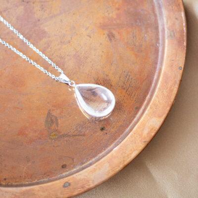 colar de quartzo cristal surya cristais
