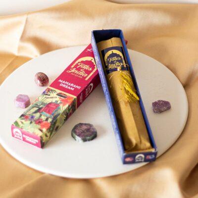 incenso Maharani Dream tales of indiasurya cristais