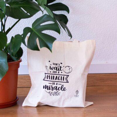 saco solidário be a miracle surya cristais